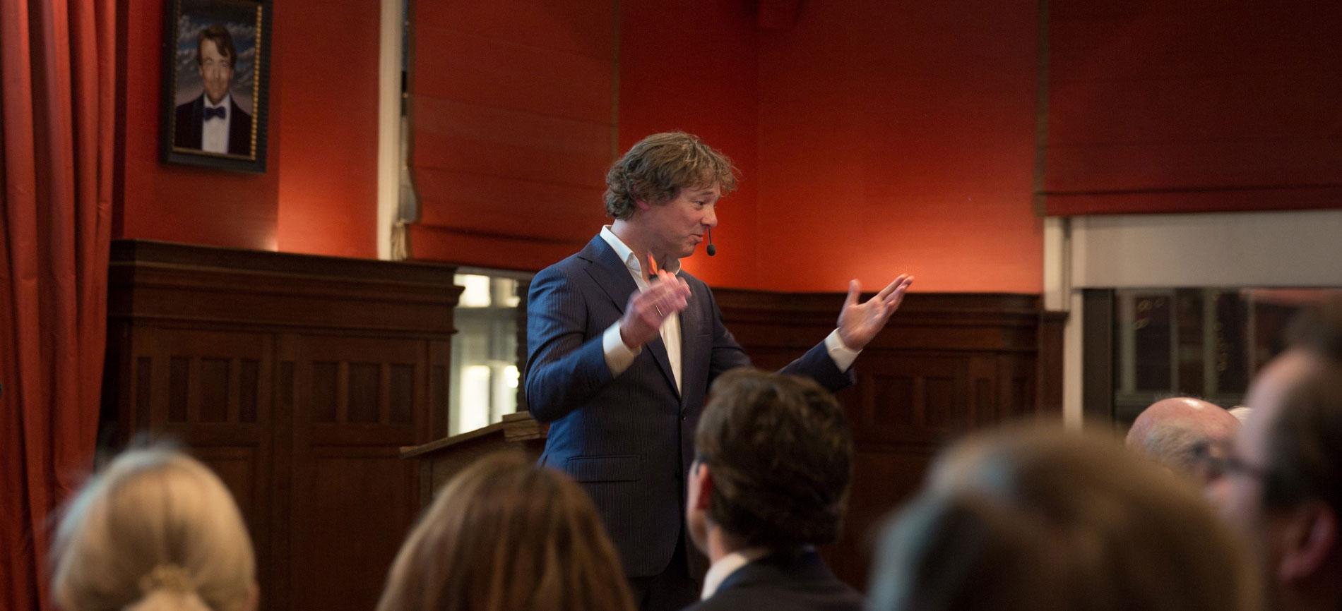 Frits Sissing spreker tv presentator dagvoorzitter